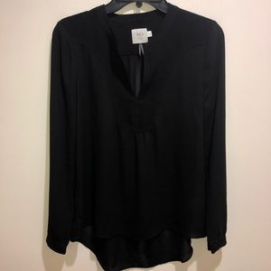 HD In Paris Anthropologie Sz 4 Black Long Sleeve